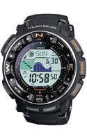 G-shock Digital Pathfinder Black Resin Bracelet Watch  - Lyst