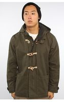 Obey The Porter Jacket in Dark Army - Lyst