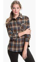 Pendleton Plaid Shirt - Lyst