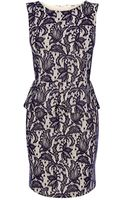 Oasis Bonded Lace Dress - Lyst