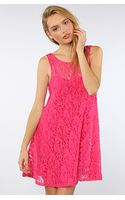 Free People The Miles Of Lace Tank Dress  - Lyst