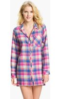 Make + Model In The Woods Flannel Nightshirt - Lyst