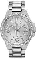 Juicy Couture Womens Jetsetter Stainless Steel Bracelet Watch - Lyst