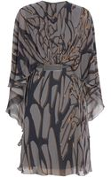 Elie Saab Printed Kaftan Dress - Lyst
