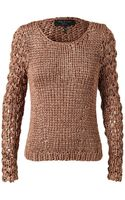 Rag & Bone Chunky Knitted Sweater - Lyst