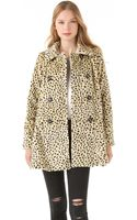 Free People Faux Fur Cheetah Coat - Lyst