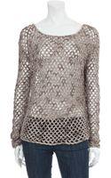 Brochu Walker Cotton Wool Blend Sweater - Lyst