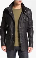 Marc By Marc Jacobs Leather Field Jacket - Lyst