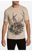 Rook Skull Life Tshirt - Lyst
