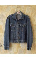 Free People Vintage Lee Denim Jacket - Lyst