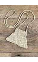 Free People Vintage Woven Pouch Necklace - Lyst