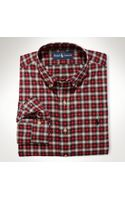 Polo Ralph Lauren Classic Fit Sueded Shirt - Lyst