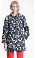 Marc Jacobs Flower Butterfly Print Coat - Lyst