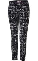 Juicy Couture Black Combo Leopard and Plaid Pant - Lyst