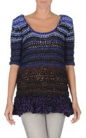 Vionnet Short Sleeve Sweater - Lyst