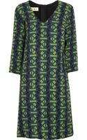 Marni Printed Wovenwool Dress - Lyst