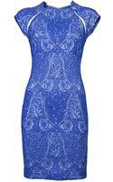 Yigal Azrouel Paisley Dress - Lyst