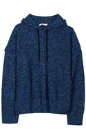 T By Alexander Wang Boxy Hooded Pullover - Lyst