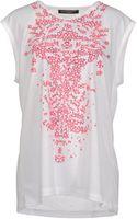 Balenciaga Sleeveless T-Shirt - Lyst