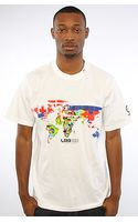 LRG The Whole World Ss Tee in White - Lyst