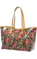 Sw3 Modern Craft Lulù Tote Baggenuine Leather and Rose Fabric - Lyst