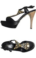 Lola Cruz Platform Sandals - Lyst