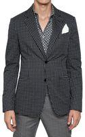 Alexander McQueen Deconstructed Cotton Gabardine Jacket - Lyst