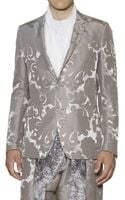 Etro Linen Silk Blend Jacquard Paisley Jacket - Lyst
