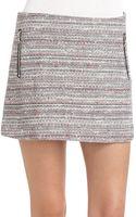 Veronica Beard Nautical Tweed Miniskirt - Lyst