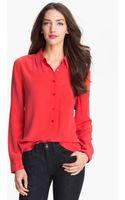 Equipment Silk Shirt - Lyst