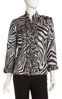 Berek Zebra Moon Jacket - Lyst