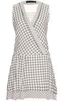 Proenza Schouler Printed Wrap Dress - Lyst