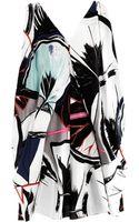 Balenciaga Ginko print Ethereal Dress - Lyst