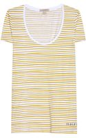 Burberry Brit Cotton T-Shirt - Lyst