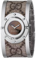 Gucci Ladies Twirl Fabric Watch - Lyst