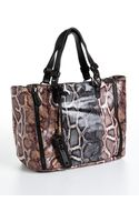 Sam Edelman Genevieve Python Print Tote Bag - Lyst
