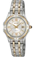 Seiko Ladies Twotone Stainless Steel Watch - Lyst