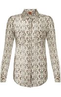 Tory Burch Evelin Shirt - Lyst