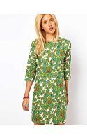 Asos Asos Shift Dress in Paisley Print - Lyst