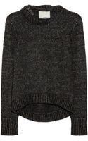 3.1 Phillip Lim Embellished Alpacablend Sweater - Lyst