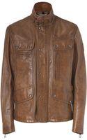 Belstaff  Leather Maple Jacket - Lyst
