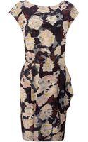 Twenty 8 Twelve Cap Sleeve Floral Dress - Lyst