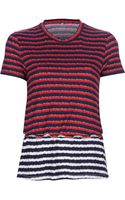 Kenzo Stripe T-shirt - Lyst