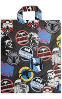 Comme Des Garçons Star Wars Multi Logo Shopper Bag Black - Lyst