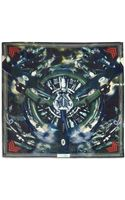 Givenchy Airplaneprint Cottonblend Scarf - Lyst