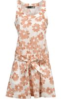 Love Moschino Sleeveless Floral-Print Short Dresses - Lyst