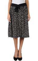 Balenciaga Knee Length Skirts - Lyst