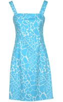 Versace Jeans Short Dresses - Lyst