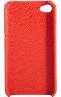 Valextra Iphone 4 Case - Lyst