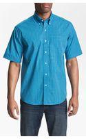 Cutter & Buck Anders Check Sport Shirt Big Tall - Lyst